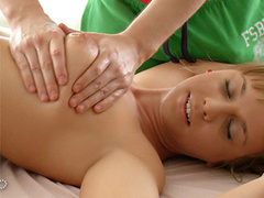 She never thought that massage can be so exciting and got fucked up