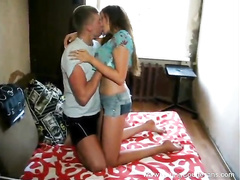 Dude satisfies hotly excited from porn videos young girlfriend